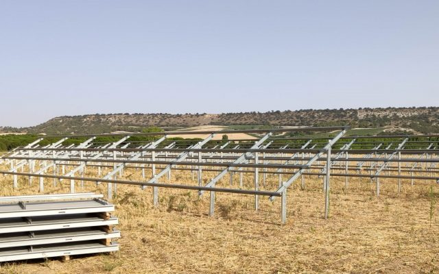 estructuras parque solar fotovoltaico